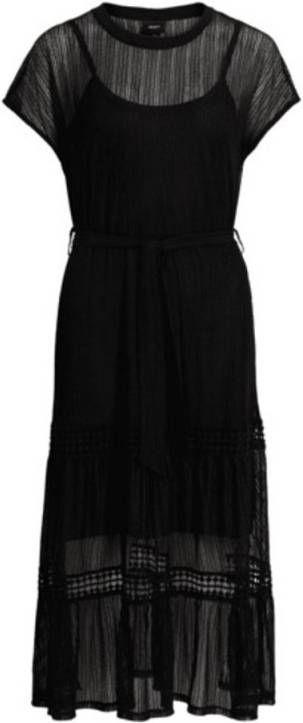 Verbazingwekkend Lange zwarte jurk Objtutsie Object - Jurkenshoponline.nl ZI-45